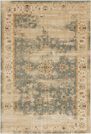 Surya Arabesque Abs-3035 Charcoal Area Rug