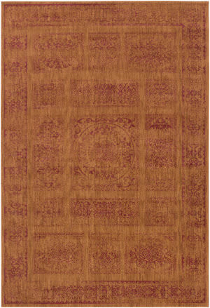 Surya Arabesque Abs-3045 Rust Area Rug
