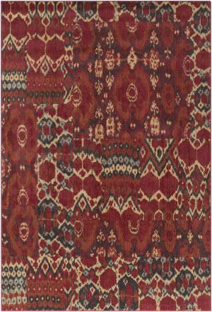 Surya Arabesque Abs-3052 Burgundy Area Rug