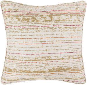 Surya Arie Pillow Ae-002 Orange/Khaki