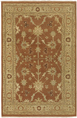 Surya Ainsley AIN-1002 Rust Brown Area Rug