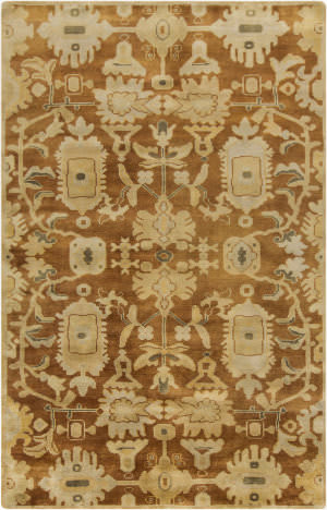 Surya Ainsley AIN-1015 Beige / Green / Rust Area Rug
