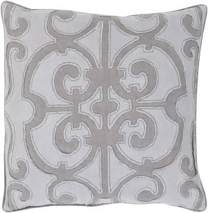 Surya Amelia Pillow Al-004 Medium Grey/Lilac