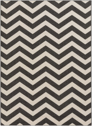 Surya Alfresco ALF-9646 Black Area Rug