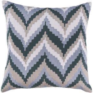Surya Pillows AR-053 Navy/Slate