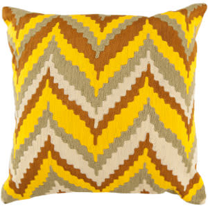 Surya Pillows AR-055 Sunflower