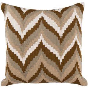 Surya Pillows AR-058 Olive/Ivory