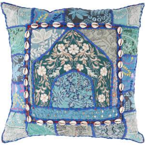 Surya Pillows AR-069 Teal/Multi
