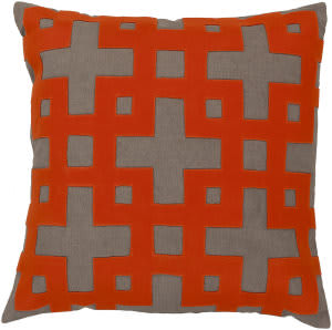 Surya Layered Blocks Pillow Ar-081