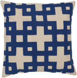 Surya Layered Blocks Pillow Ar-082