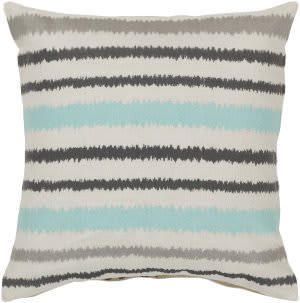 Surya Ikat Stripe Pillow Ar-100