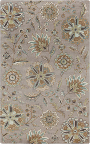 Custom Surya Athena ATH-5127 Tan - Blue Area Rug