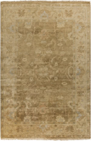 Surya Antique Atq-1001 Tan Area Rug