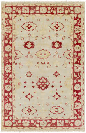 Surya Antique Atq-1009 Burgundy Area Rug