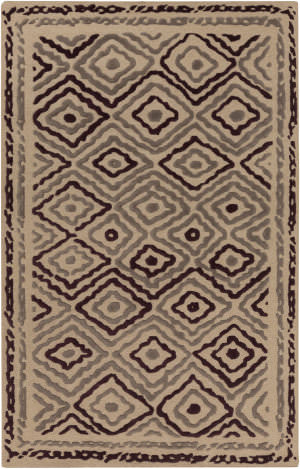 Surya Atlas ATS-1011 Gray / Violet (purple) Area Rug
