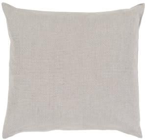 Surya Audrey Pillow Au-001 Light Grey