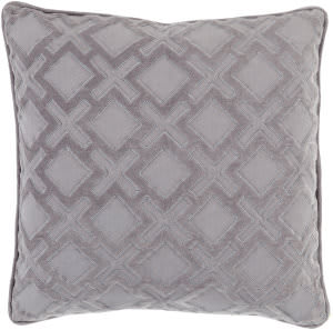 Surya Alexandria Pillow Ax-005 Grey