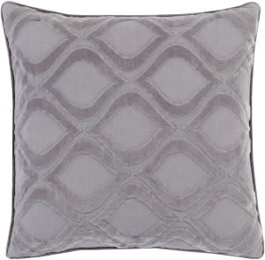 Surya Alexandria Pillow Ax-010 Medium Grey/Charcoal