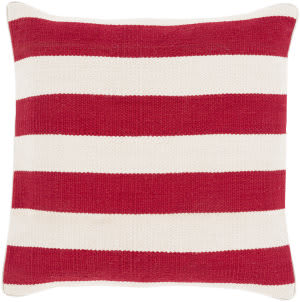 Surya Bold Geo Pillow Bd-002 Red