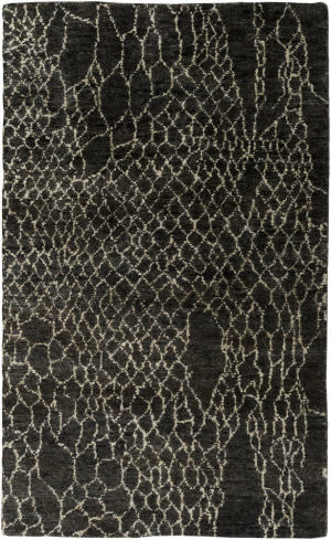 Surya Bjorn Bjr-1008 Chocolate / Charcoal Area Rug