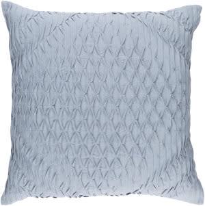 Surya Baker Pillow Bk-001 Blue/Grey