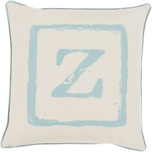 Surya Big Kid Blocks Pillow Bkb-029 Aqua