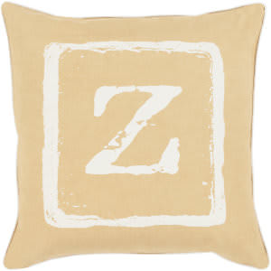 Surya Big Kid Blocks Pillow Bkb-032 Wheat