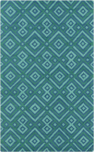 Surya Brentwood BNT-7704 Teal Area Rug