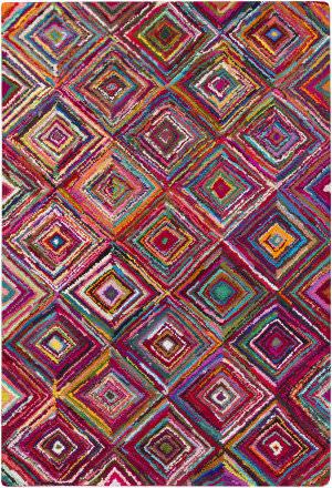 Surya Boho Boh-2002 Magenta Area Rug