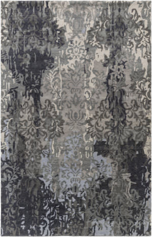 Surya Brocade Brc-1010 Charcoal Area Rug