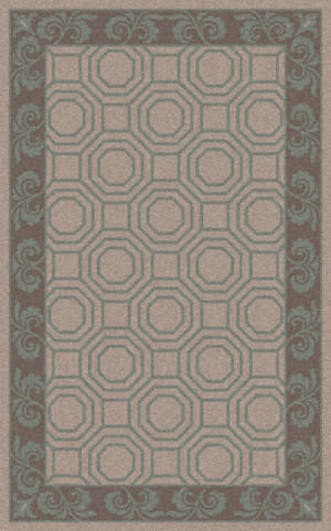Surya Bordeaux BRD-6002 Light Gray Area Rug