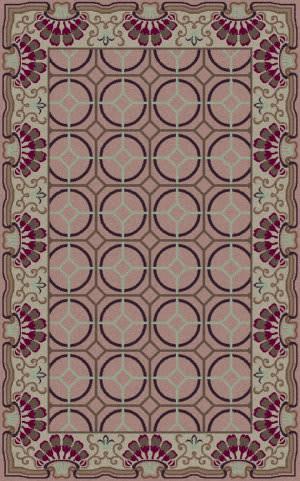 Surya Bordeaux BRD-6019 Purple Area Rug