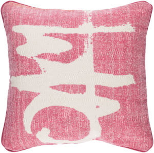 Surya Bristle Pillow Bt-001 Pink
