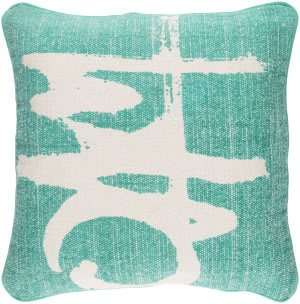 Surya Bristle Pillow Bt-003 Emerald