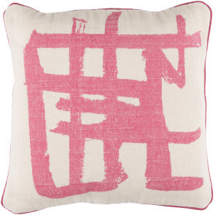 Surya Bristle Pillow Bt-005 Pink