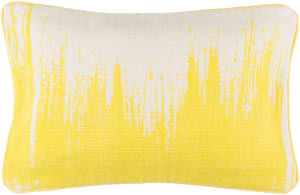 Surya Bristle Pillow Bt-013 Yellow