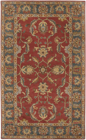 Custom Surya Caesar CAE-1007 Rust Red Area Rug