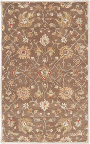 Custom Surya Caesar Cae-1086 Dark Brown Area Rug