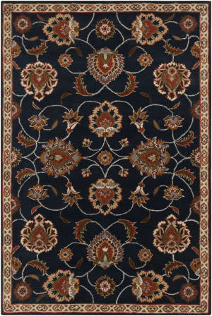Custom Surya Caesar CAE-1102 Ink Area Rug