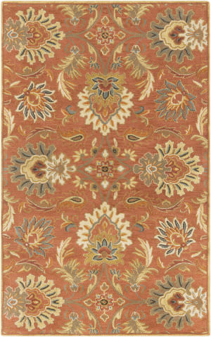 Custom Surya Caesar CAE-1112 Red Clay Area Rug