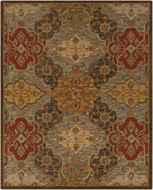 Surya Carrington CAR-1005 Fatigue Green Area Rug