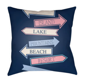 Surya Carolina Coastal Pillow Cc-007