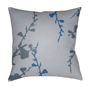 Surya Chinoiserie Floral Pillow Cf-011