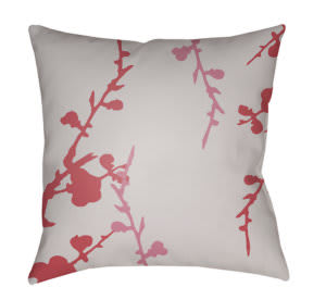 Surya Chinoiserie Floral Pillow Cf-013