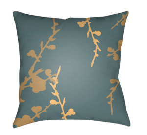 Surya Chinoiserie Floral Pillow Cf-016