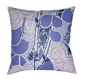 Surya Chinoiserie Floral Pillow Cf-020