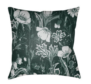 Surya Chinoiserie Floral Pillow Cf-031