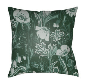 Surya Chinoiserie Floral Pillow Cf-033