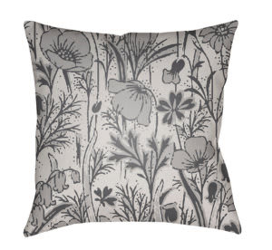 Surya Chinoiserie Floral Pillow Cf-035