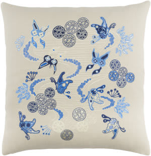 Surya Chinese River Pillow Ci-003